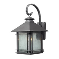 ELK Lighting Blackwell 1 Light Outdoor Sconce in Graphite 42302/1