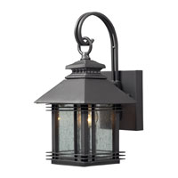 ELK Lighting Blackwell 1 Light Outdoor Sconce in Graphite 42305/1