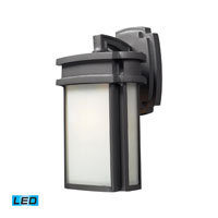 ELK Lighting Sedona 1 Light Outdoor Wall Sconce in Graphite 42340/1-LED