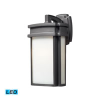 ELK Lighting Sedona 1 Light Outdoor Wall Sconce in Graphite 42341/1-LED