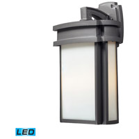ELK Lighting Sedona 2 Light LED Outdoor Wall Sconce in Graphite 42342/2-LED