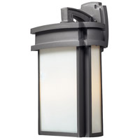 Sedona 2 Light 20 inch Graphite Outdoor Sconce