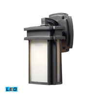 Sedona LED 10 inch Graphite Outdoor Wall Sconce