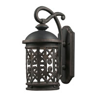 ELK Lighting Tuscany Coast LED Outdoor Sconce in Weathered Charcoal 42362/1