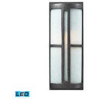 ELK Lighting Trevot 1 Light Outdoor Wall Sconce in Graphite 42395/1-LED