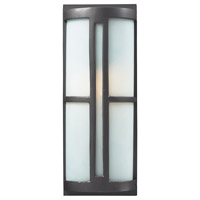 Trevot 1 Light 17 inch Graphite Outdoor Sconce in Standard
