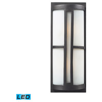 ELK Lighting Trevot 2 Light Outdoor Wall Sconce in Graphite 42396/2-LED