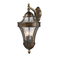 ELK Lighting Towson 3 Light Outdoor Sconce in Hazelnut Bronze 43013/3 photo thumbnail