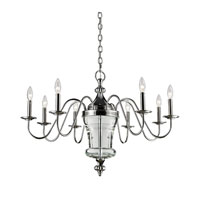 ELK Lighting Bensley 8 Light Chandelier in Polished Nickel 44001/8