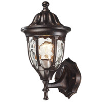 ELK Lighting Glendale 1 Light Outdoor Wall Sconce in Regal Bronze 45000/1 photo thumbnail