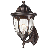 ELK 45001/1 Glendale 1 Light 16 inch Regal Bronze Outdoor Wall Sconce