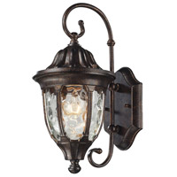 ELK Lighting Glendale 1 Light Outdoor Wall Sconce in Regal Bronze 45002/1