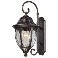 ELK 45003/1 Glendale 1 Light 18 inch Regal Bronze Outdoor Wall Sconce