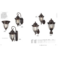 ELK 45004/1 Glendale 1 Light 11 inch Regal Bronze Outdoor Flush Mount alternative photo thumbnail