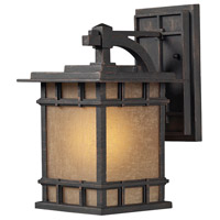 ELK Lighting Newlton 1 Light Outdoor Wall Sconce in Weathered Charcoal 45010/1