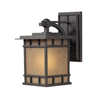 ELK Lighting Newlton 1 Light Outdoor Wall Sconce in Weathered Charcoal 45011/1