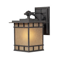 ELK Lighting Newlton 1 Light Outdoor Wall Sconce in Weathered Charcoal 45012/1