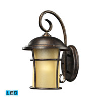 ELK Lighting Bolla Vista 1 Light Outdoor Wall Sconce in Regal Bronze 45035/1-LED