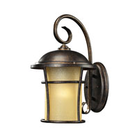 Bolla Vista 1 Light 15 inch Regal Bronze Outdoor Wall Sconce
