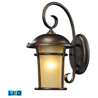 Bolla Vista LED 17 inch Regal Bronze Outdoor Wall Sconce