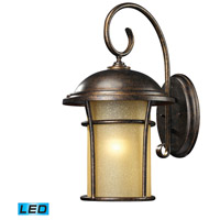 ELK Lighting Bolla Vista 1 Light Outdoor Wall Sconce in Regal Bronze 45037/1-LED