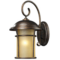 ELK Lighting Bolla Vista 1 Light Outdoor Wall Sconce in Regal Bronze 45037/1