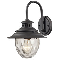 ELK 45040/1 Searsport 1 Light 13 inch Weathered Charcoal Outdoor Wall Sconce