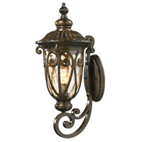 ELK 45071/1 Logansport 1 Light 22 inch Hazelnut Bronze Outdoor Sconce