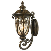 ELK 45072/1 Logansport 1 Light 24 inch Hazelnut Bronze Outdoor Sconce