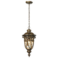 Logansport 1 Light 10 inch Hazelnut Bronze Outdoor Pendant