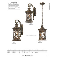 ELK 45081/1 Orlean 1 Light 21 inch Hazelnut Bronze Outdoor Sconce alternative photo thumbnail