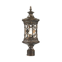 Orlean 1 Light 21 inch Hazelnut Bronze Post Mount