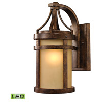 ELK Lighting Winona LED Outdoor Wall Sconce in Hazelnut Bronze 45096/1-LED