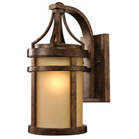 Winona 1 Light 16 inch Hazelnut Bronze Outdoor Wall Sconce in Standard