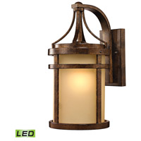 Winona LED 18 inch Hazelnut Bronze Outdoor Wall Sconce