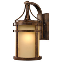 Winona 1 Light 18 inch Hazelnut Bronze Outdoor Wall Sconce in Standard