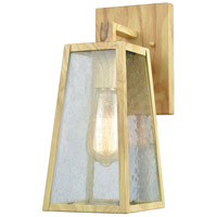 Mediterrano 1 Light 12 inch Birtchwood Outdoor Wall Sconce