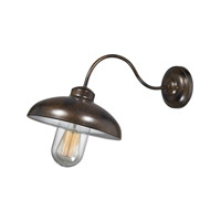 ELK Lighting Barnside 1 Light Outdoor Sconce in Hazelnut Bronze 45105/1