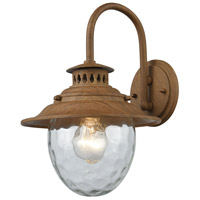 Searsport 1 Light 13 inch Dark Wood Outdoor Sconce