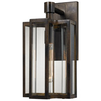 ELK Lighting Bianca 1 Light Outdoor Sconce in Hazelnut Bronze with Clear Glass 45145/1