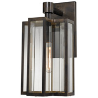 ELK Lighting Bianca 1 Light Outdoor Sconce in Hazelnut Bronze with Clear Glass 45146/1