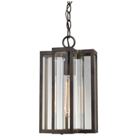 ELK Lighting Bianca 1 Light Outdoor Pendant in Hazelnut Bronze with Clear Glass 45147/1