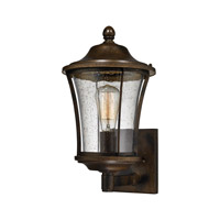 ELK Lighting Morganview 1 Light Outdoor Sconce in Hazelnut Bronze with Clear Glass 45151/1