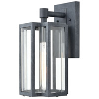 ELK 45164/1 Bianca 1 Light 13 inch Aged Zinc Outdoor Sconce