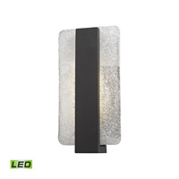 Elk Lighting Pierre LED Outdoor Wall Sconce in Textured Matte Black 45230/LED