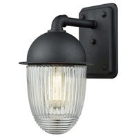 ELK 45251/1 Channing 1 Light 12 inch Matte Black Outdoor Sconce