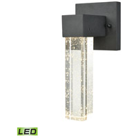 Emode LED 10 inch Matte Black Outdoor Wall Sconce