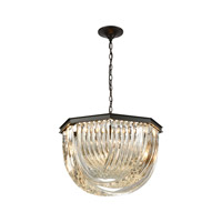 Elk Lighting Optalique 7 Light Chandelier in Oil Rubbed Bronze 45342/7