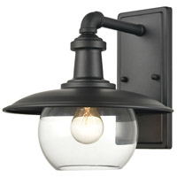 ELK 45430/1 Jackson 11 inch Matte Black Outdoor Sconce
