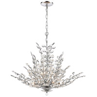ELK 45463/9 Crystique 9 Light 30 inch Polished Chrome Chandelier Ceiling Light